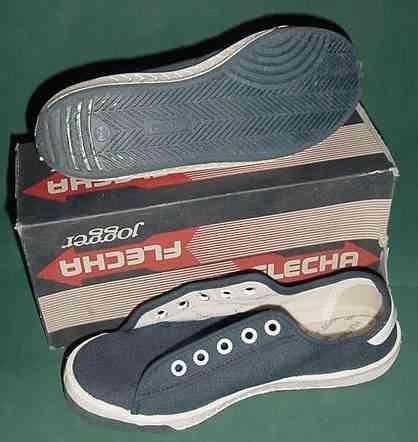 Las zapatillas Flecha marcaron una época.