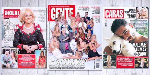 Las tapas de revista de esta semana tucum n a las 7 for Revistas de espectaculos de esta semana