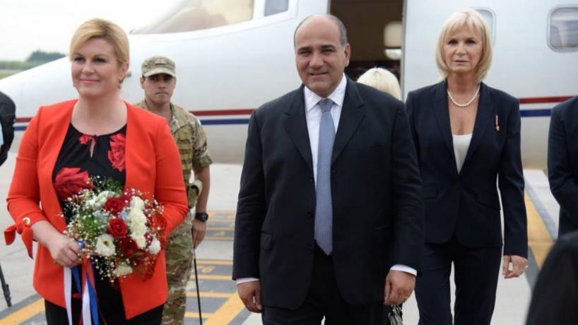 La presidenta de Croacia se encuentra en Tucumán - Tucumán ...