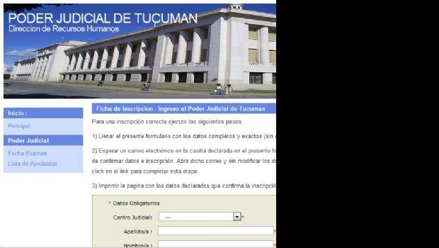 Paso a Paso, cómo es la inscripcion para concursos de empleados en el Poder Judicial