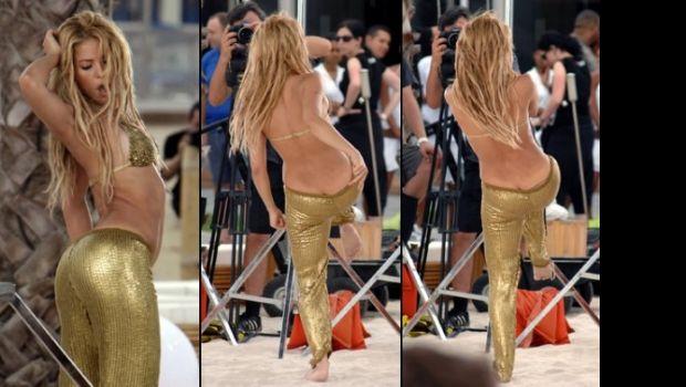 A Shakira se le vió todo