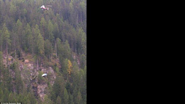Helicóptero fantástico: Rescató a un auto