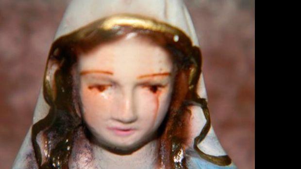 Una virgen llora sangre y se mueve en Salta