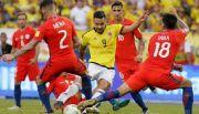 En un partido chato, Colombia y Chile empataron sin goles