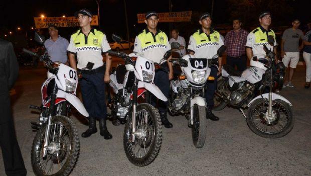 Simoca presentó su policía municipal