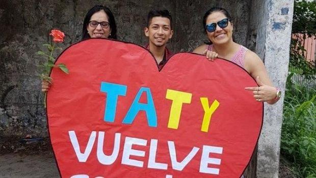 """""""Taty vuelve conmigo"""", el mensaje de un tucumano que se hizo viral"""