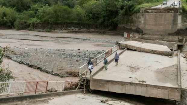 En abril estará reconstruido el puente de ingreso a Villa Padre Monti