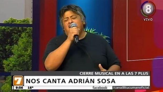Adrian Sosa cerró #Alas7 a puro folklore