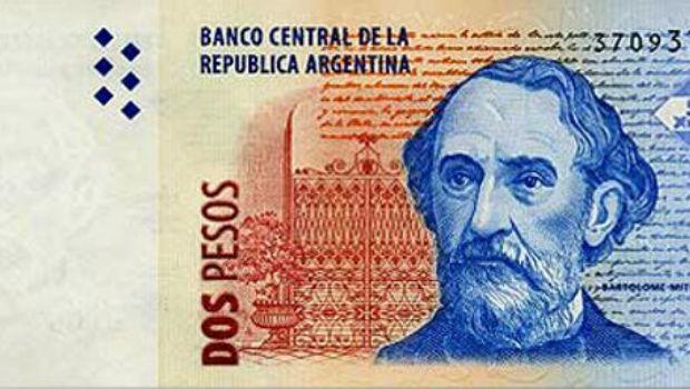El Banco Central saca de circulación el billete de 2 pesos
