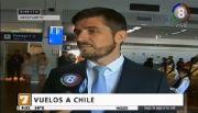 El balance de Sebastian Giobellina sobre los vuelos directos a Chile