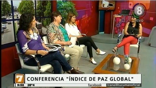 """Se desarrollará una conferencia sobre """"Indice de Paz Global"""""""