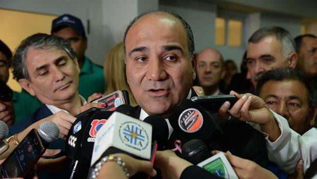 """Juan Manzur: """"Se preparan alternativas a las iniciativas de Nación"""""""