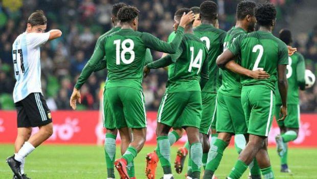 Argentina ganaba pero Nigeria lo dió vuelta y terminó goleando