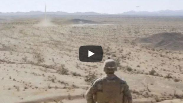 Soldados filmaron el ataque de un OVNI gigante