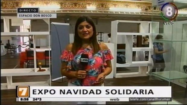Se viene la Expo Navidad Solidaria
