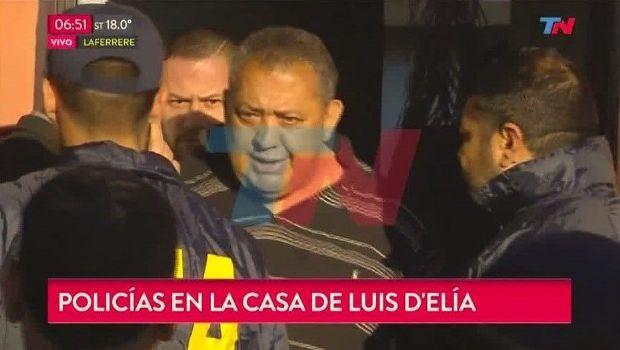 Luis D'Elía también es detenido por encubrimiento del atentado a la AMIA