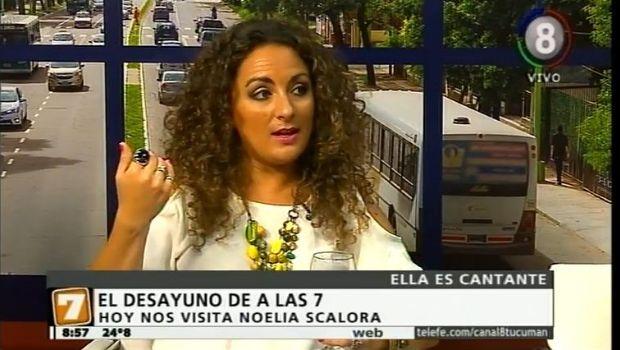 Desayunamos con Noelia Scalora