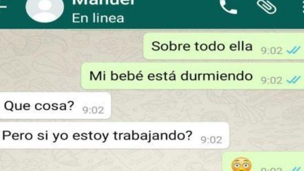 Descubre la infidelidad de su esposa gracias a Whatsapp