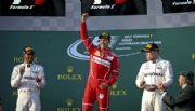 F1: Vettel ganó con Ferrari y le cortó la racha a Mrcedes