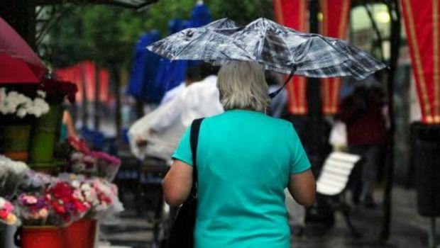 Este lunes, tené preparado el paraguas