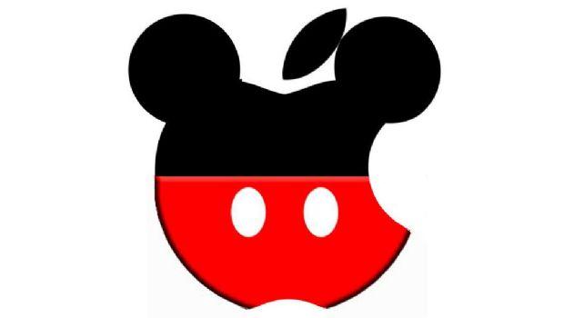 Apple planea quedarse con Disney