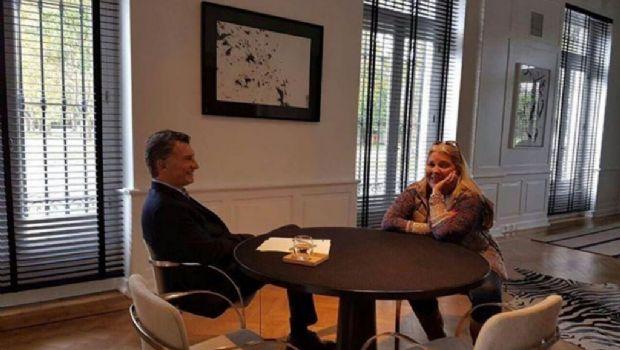 Macri recibió a Carrió en Olivos