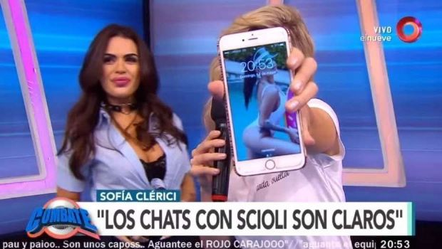 Sofía Clérici desmintió a Scioli