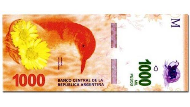 Lanzan nuevo billete de $1000