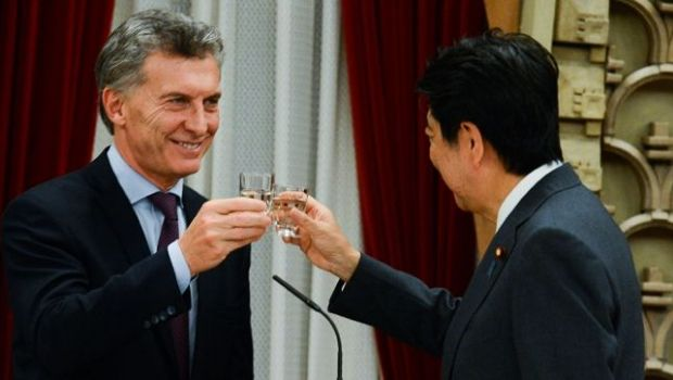 """El primer ministro japonés remarcó que la Argentina cumple un papel de """"locomotora en el continente sudamericano"""""""