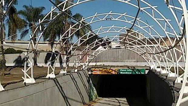 Quedó inaugurado y habilitado el túnel de calle Mendoza