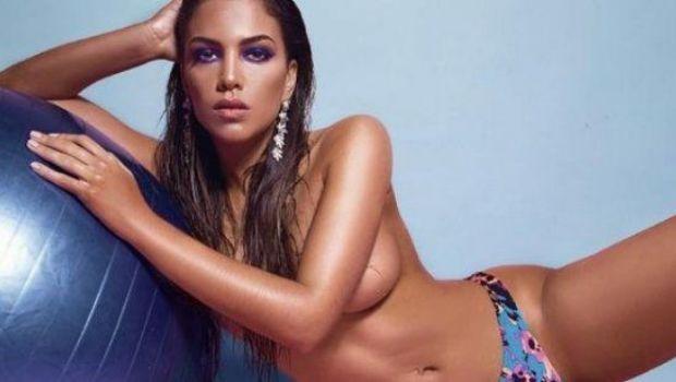 Rocío Robles hizo un topless para Playboy