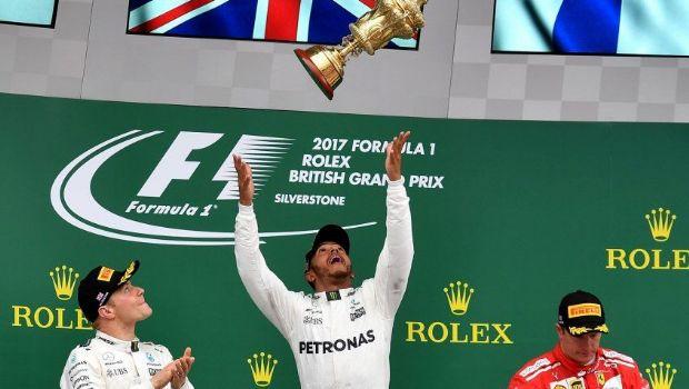 Hamilton ganó  la prueba de Silverstone de Fórmula 1
