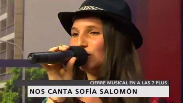 Sofía Salomón cerró la semana de #Alas7
