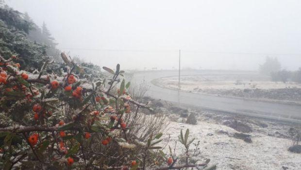 Nieve cayó en Tafí del Valle