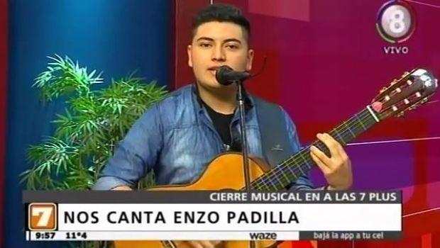 Enzo Padilla cerró la mañana de #Alas7