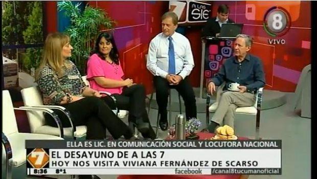 Desayunamos con Viviana Fernández de Scarso