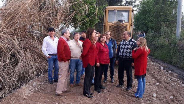 Villa Belgrano: avanza la refacción de caminos terciarios
