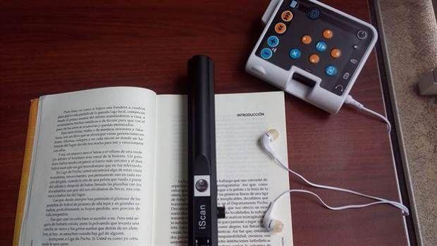 Prócer, el dispositivo que transforma texto en voz está ya a la venta