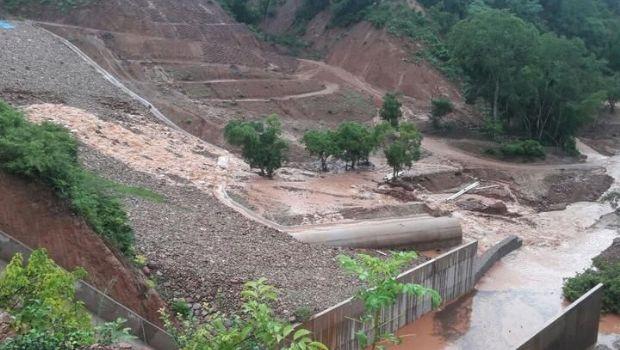 Una fisura en una represa de Bolivia genera alarma en Salta y Tucumán