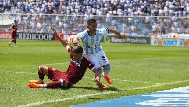 """El """"decano"""" y Lanús empataron sin goles en el Monumental"""