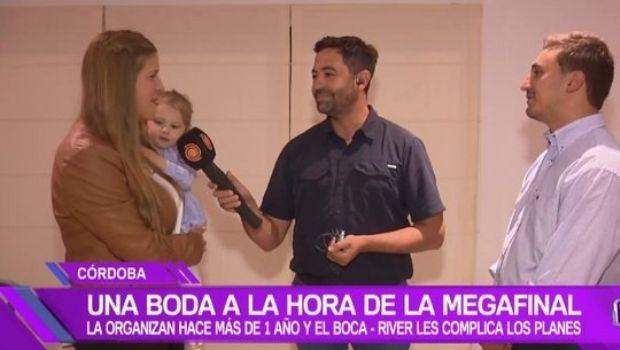 ¡Estarán solos!: se casarán a la hora del Boca-River