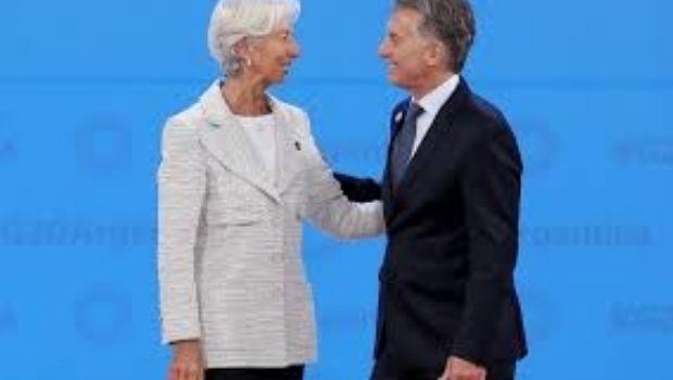 """Lagarde: """"El FMI va a seguir apoyando los esfuerzos de Argentina"""""""