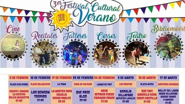 3º Festival Cultural de Verano en la Capital del Limón