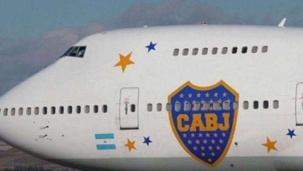 Se rompió el avión de Boca