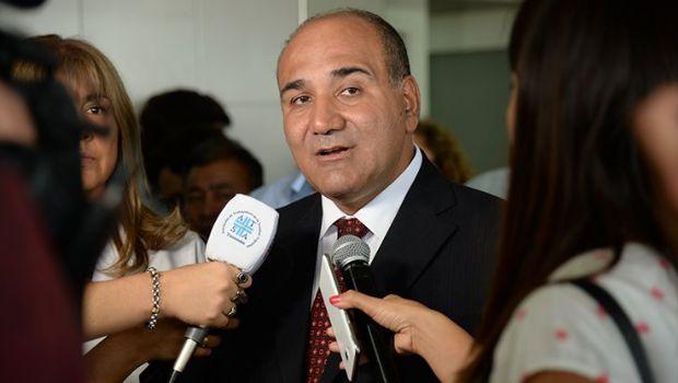 El gobernador Manzur visitará al papa Francisco