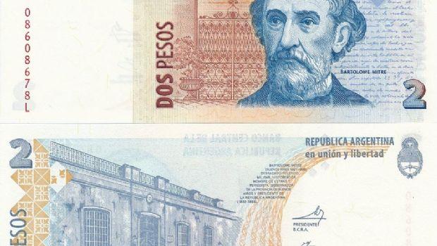 Extienden un mes el plazo para canjear los Billete de 2 pesos