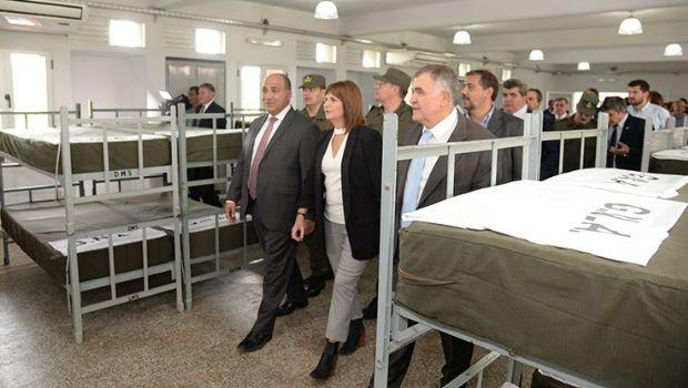 Quedo inaugurado un centro de reentrenamiento de Gendarmería Nacional