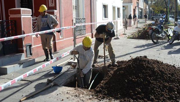 La SAT continúa sin inconvenientes los trabajos de mejoras en el Barrio El Bosque