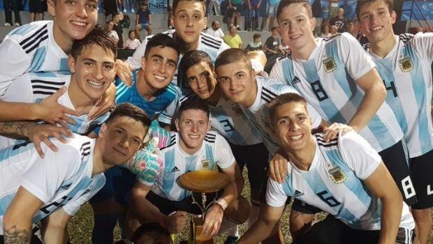 La sub 20 Argentina, campeones en L' Alcúdia