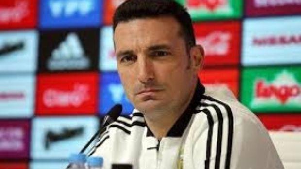 """Scaloni: """"La camiseta 10 no la tiene nadie porque es exclusiva de Messi"""""""